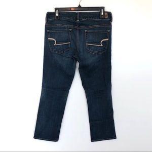 American Eagle Artist Crop Jeans {6}